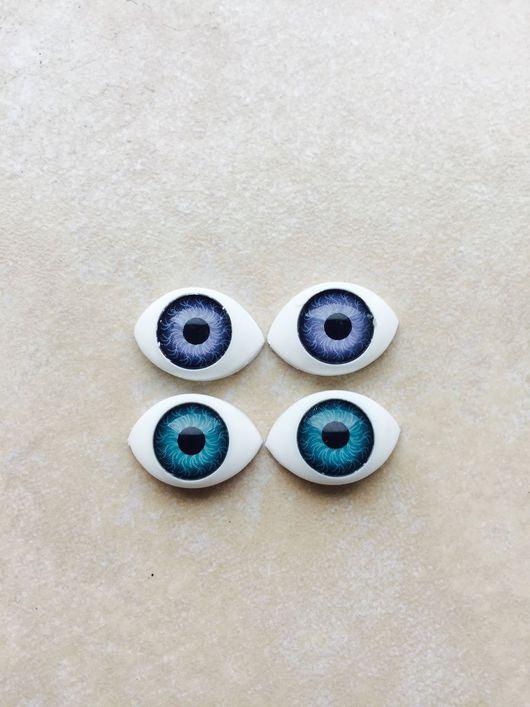 Куклы и игрушки ручной работы. Ярмарка Мастеров - ручная работа. Купить Глазки для кукол. Handmade. Глаза, пластиковые глазки