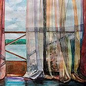 Картины и панно ручной работы. Ярмарка Мастеров - ручная работа Свежесть утра. 3 вида. Handmade.