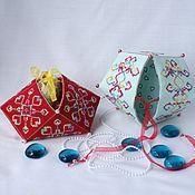 Для дома и интерьера handmade. Livemaster - original item Box biscornu. Handmade.