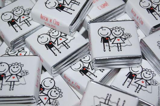 Свадебные аксессуары ручной работы. Ярмарка Мастеров - ручная работа. Купить Funny Love..Свадебные бонбоньерки 3/1. Handmade.