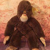 Винтаж ручной работы. Ярмарка Мастеров - ручная работа обезьянка штайф, Steiff, винтаж. Handmade.