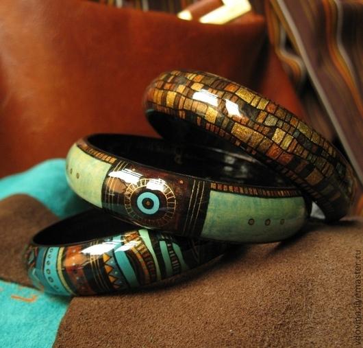 Браслеты ручной работы. Ярмарка Мастеров - ручная работа. Купить браслеты Затонувший клад. Handmade. Тёмно-бирюзовый, бронзовый цвет