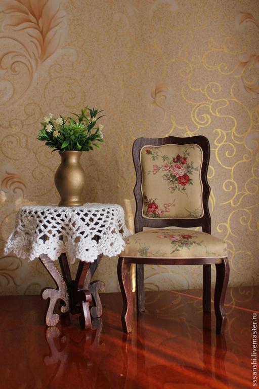 """Кукольный дом ручной работы. Ярмарка Мастеров - ручная работа. Купить Композиция 1:4 """"Ностальгия"""". Handmade. Мебель для кукол, миниатюра"""