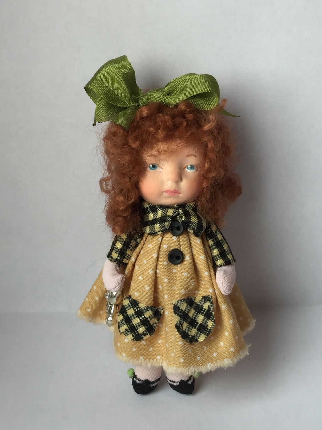 Brooch doll, Brooches for children, St. Petersburg,  Фото №1