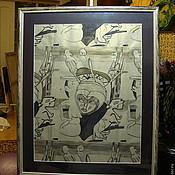 Картины и панно handmade. Livemaster - original item Picture. African rhythms. Handmade.