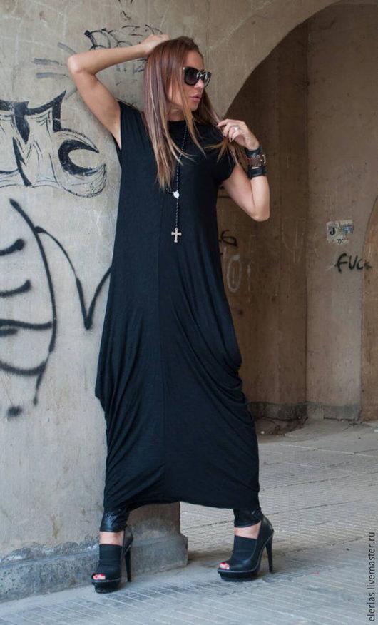 Купить платье. Длинное платье в пол. Платье из хлопка.
