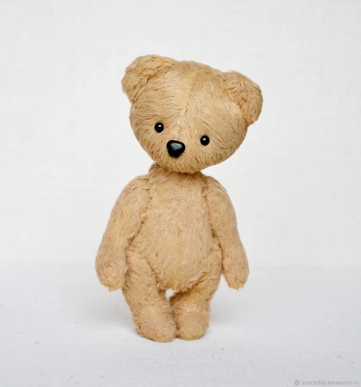 Мишки Тедди ручной работы. Ярмарка Мастеров - ручная работа. Купить Мишка Тедди 12см. Handmade. Тедди, шоколадный, карамельный