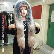 Аксессуары handmade. Livemaster - original item Fur hat hood. Handmade.