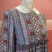 Одежда ручной работы. Ярмарка Мастеров - ручная работа Платье из  трикотажа. Handmade.
