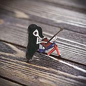 Украшения handmade. Livemaster - original item Wooden icon Marceline. Handmade.