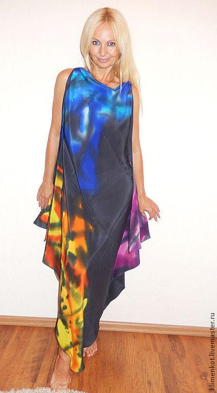 Платья ручной работы. Ярмарка Мастеров - ручная работа. Купить платье - Мечта-1. Handmade. Абстрактный, платье в пол