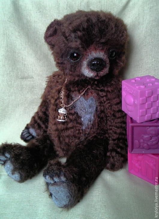 Мишки Тедди ручной работы. Ярмарка Мастеров - ручная работа. Купить Мишка авторский.Нортон,40 см. Handmade.