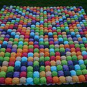 Для дома и интерьера ручной работы. Ярмарка Мастеров - ручная работа Большое зефирное бомбон одеяло - покрывало. Handmade.