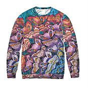 Одежда handmade. Livemaster - original item T-shirt for women designer print of