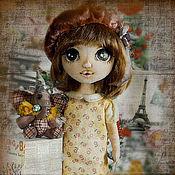 Куклы и игрушки ручной работы. Ярмарка Мастеров - ручная работа Zelie Маленькая француженка, мечтающая о цирке. Handmade.