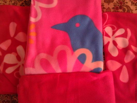 Текстиль, ковры ручной работы. Ярмарка Мастеров - ручная работа. Купить комплект флисовый. Handmade. Комбинированный, флисовый комплект