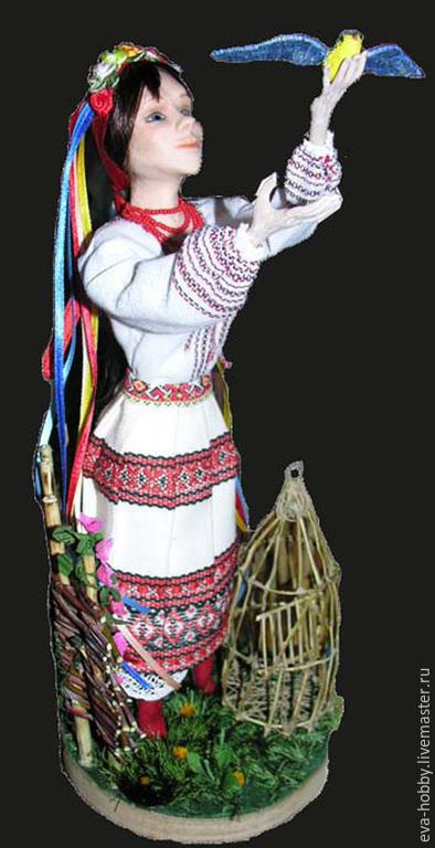 """Коллекционные куклы ручной работы. Ярмарка Мастеров - ручная работа. Купить Кукла """"Лети!"""". Handmade. Разноцветный, кукла интерьерная"""