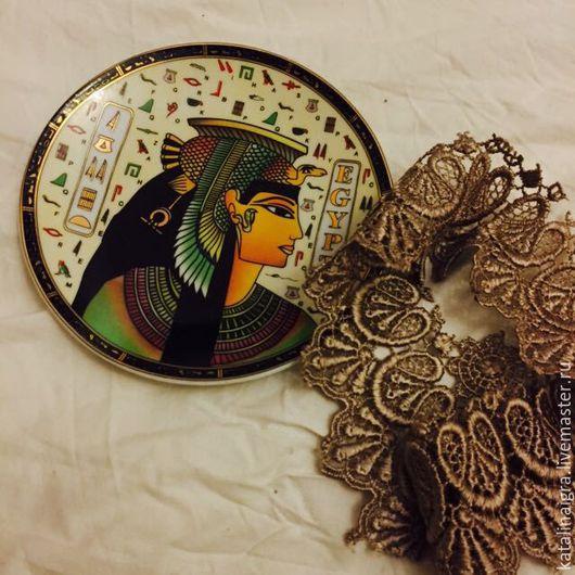 Винтажные предметы интерьера. Ярмарка Мастеров - ручная работа. Купить Тарелка на стену Египет. Handmade. Комбинированный, тарелка на стену
