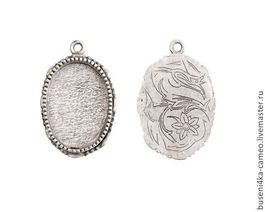 Для украшений ручной работы. Ярмарка Мастеров - ручная работа. Купить Оправа Винтаж 18х25мм, ND античное серебро (1шт). Handmade.
