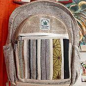 Рюкзаки ручной работы. Ярмарка Мастеров - ручная работа Рюкзаки: Рюкзак из Хемпа. Handmade.