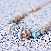Одежда handmade. Livemaster - original item Slingobusy pastel with wooden rings. Handmade.