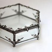 Для дома и интерьера ручной работы. Ярмарка Мастеров - ручная работа Шестиугольная шкатулка большая 16см. Handmade.