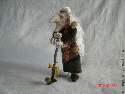 Сказочные персонажи ручной работы. Ярмарка Мастеров - ручная работа. Купить Баба Яга Костяная Нога. Handmade. Баба яга