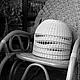 Освещение ручной работы. Ярмарка Мастеров - ручная работа. Купить Абажур плетёный Барышня-крестьянка. Handmade. Бежевый