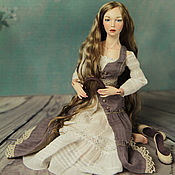 Куклы и игрушки ручной работы. Ярмарка Мастеров - ручная работа Шарнирная фарфоровая кукла Соня. Handmade.