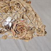 Для дома и интерьера handmade. Livemaster - original item Transparency - ceiling lamp in boudoir style. Handmade.