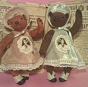 Куклы и игрушки ручной работы. Ярмарка Мастеров - ручная работа платья винтажные(стилизация под 19 -нач.20века). Handmade.
