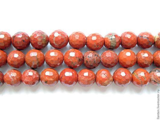 Для украшений ручной работы. Ярмарка Мастеров - ручная работа. Купить Яшма граненый шар 10 мм. Handmade. Коричневый