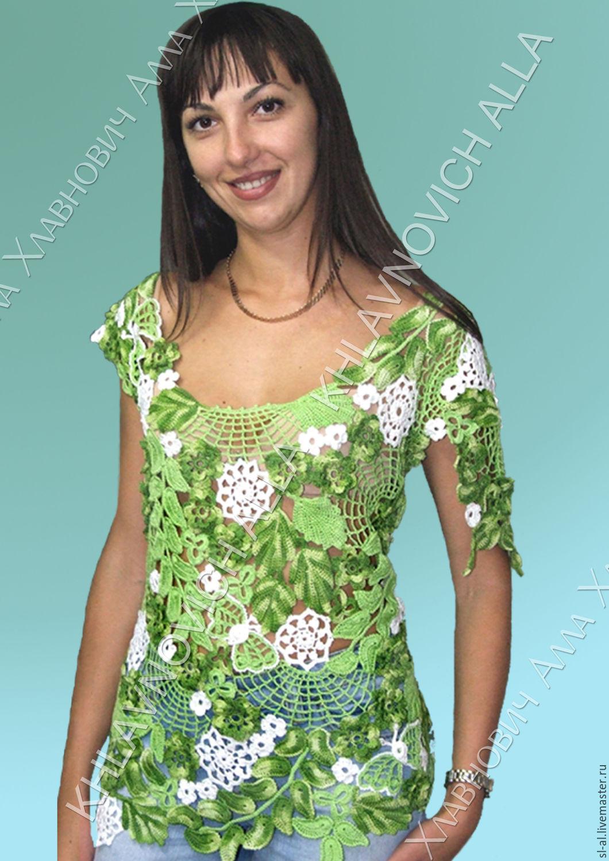 Комбинированные блузки доставка