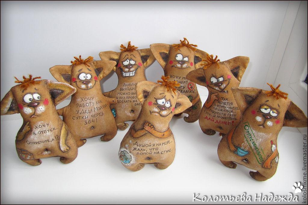 Кофейные игрушки своими руками