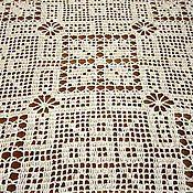 Для дома и интерьера handmade. Livemaster - original item Cloth and carpet. Fillet crochet. Handmade.