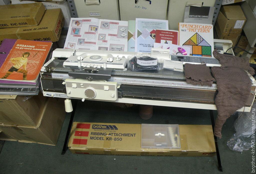электронная вязальная машина бразер Brother Kh 900 япония купить в
