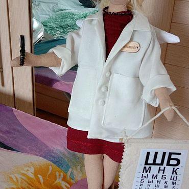 Куклы и игрушки ручной работы. Ярмарка Мастеров - ручная работа Портретная тектильная кукла. Handmade.