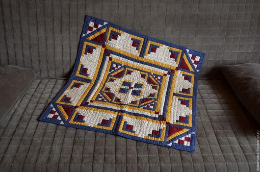 Текстиль, ковры ручной работы. Ярмарка Мастеров - ручная работа. Купить Квилт Медвежья лапа. Handmade. Тёмно-синий, квилт