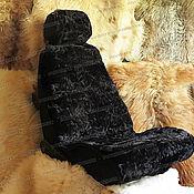 Сувениры и подарки handmade. Livemaster - original item Fur cushion auto seat