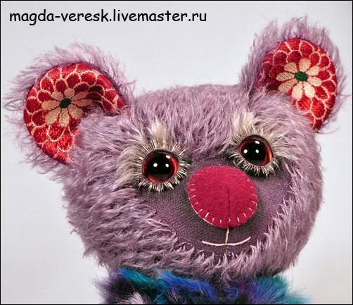 Мишки Тедди ручной работы. Ярмарка Мастеров - ручная работа. Купить Люси-Софи. Handmade. Мишка, мишка девочка