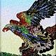 Животные ручной работы. Заказать Картина «Орел» из натуральных драгоценных камней!. Эксклюзивные ювелирные изделия (jewelry-vip). Ярмарка Мастеров.