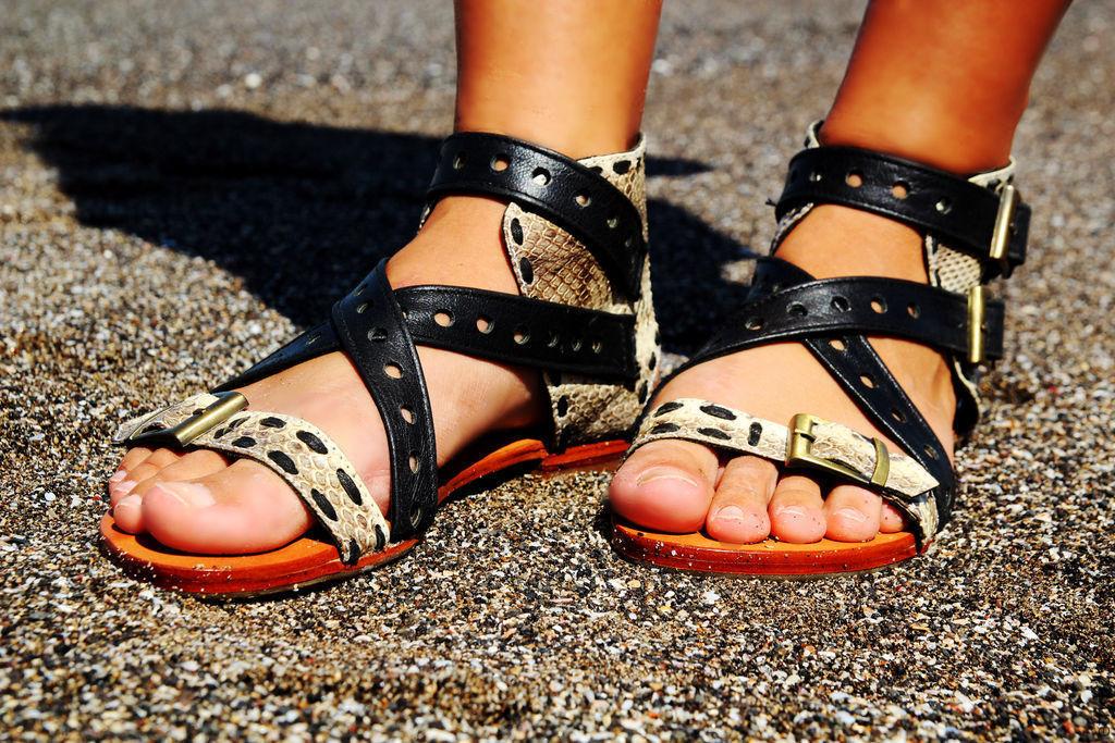 """Обувь ручной работы. Ярмарка Мастеров - ручная работа. Купить Кожаные сандалии """"Амазонка"""" (кожа змеи и ягненка). Handmade. Кожа"""