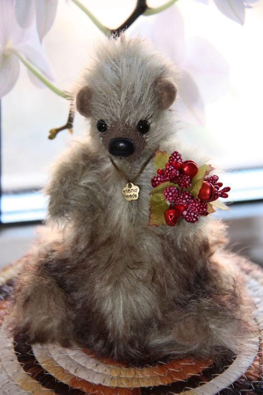 Мишки Тедди ручной работы. Ярмарка Мастеров - ручная работа. Купить Сказочный мишка WildBerry. Handmade. Комбинированный, медведь, миништоф
