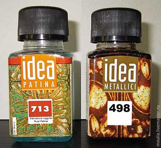 Комплект патины `Старое железо` IDEA MAIMERI, цвета 498 железо, 713 ржавчины 498-железо, 713-ржавчина      4/10