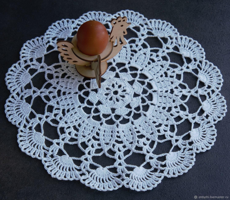 30,5 cm / COCK napkin decorative, Doilies, Moscow,  Фото №1