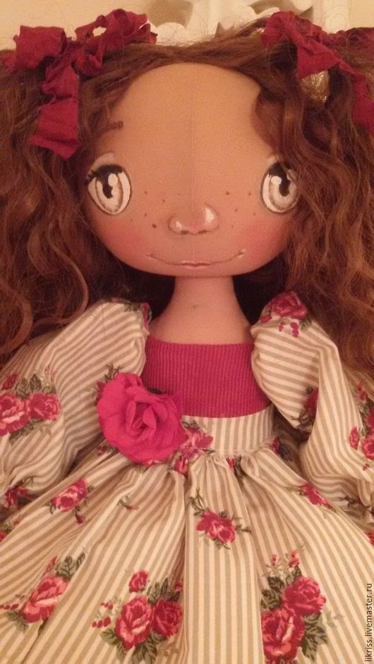 Куклы тыквоголовки ручной работы. Ярмарка Мастеров - ручная работа. Купить Малышка Тыковка. Handmade. Текстильная кукла, подарок женщине