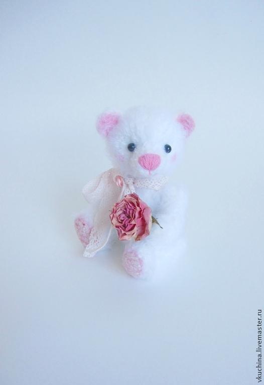 вязаный мишка вязаная мишка вязаная игрушка белый мишка вязаная игрушка вязаные игрушки мишка крючком мишка вязаный мишки игрушки игрушка мишка белая розовая девочка мишка девочка подарок на 8 марта подарок девушке авторский мишка мишутка белая мишка