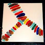 """Дизайн и реклама ручной работы. Ярмарка Мастеров - ручная работа Плитка ручной работы """"Collonega"""". Handmade."""