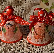 Подарки к праздникам handmade. Livemaster - original item Jingle bells