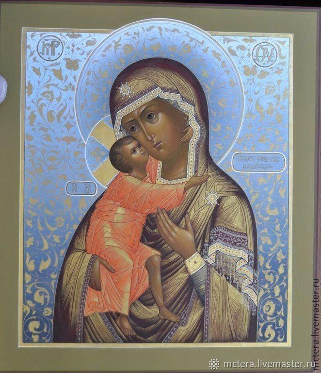 Икона Богородица Феодоровская, Иконы, Ковров,  Фото №1